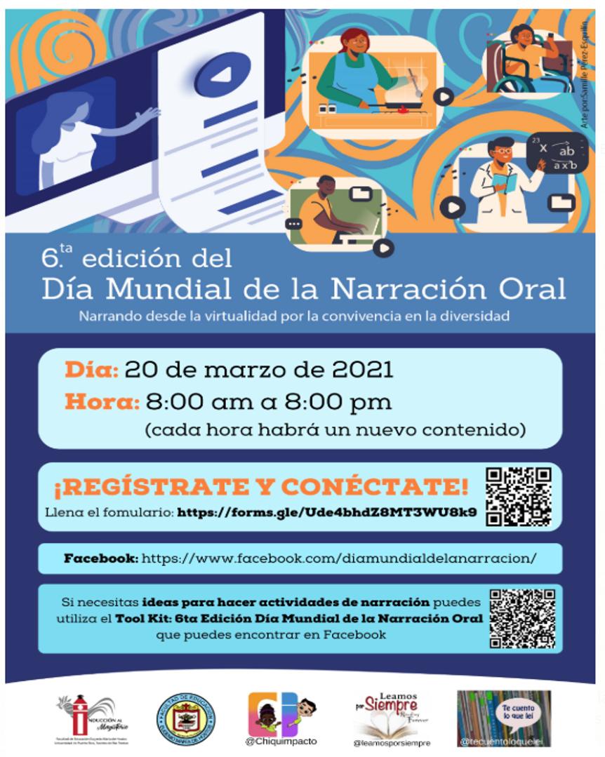 Día Mundial de la Narración Oral